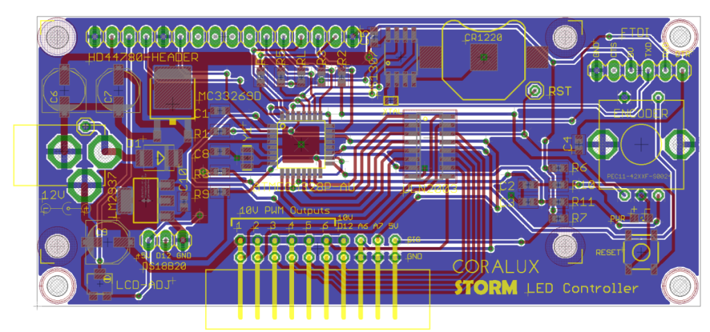 development of a 0-10V PWM controller | CORALUX